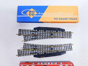 CR133-0,5# 2x Roco H0/DC Elektro Standard Weiche MS: 4540L + 4541R, NEUW+OVP