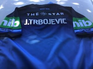Player Issue NSW State Of Origin Captains Jersey CUT Sea Eagles Manly Sharks Eel