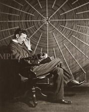 INVENTOR & SCIENTIST NICOLA TESLA Photo No.2 (144-v )
