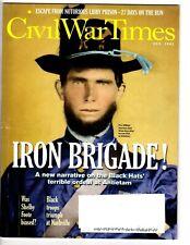Civil War Times Feb 2013: Rebel Officer gear, Antietam, USCT,  index image