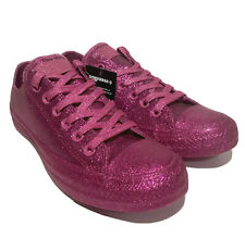 Converse All Star Chuck Taylor Hot Pink Glitter Women's Size 7 Sneakers Awesome!