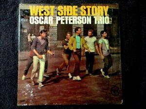 OSCAR PETERSON TRIO-WEST SIDE STORY VINYL LP 1962 VERVE DG MONO LP SHRINK SLEEVE