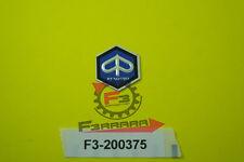 F3-200375 Scudetto ESAGONALE PIAGGIO Scooter e VESPA 26 mm ADESIVO
