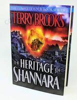 Heritage of Shannara ~ Bks. 1-4 in 1 ~ Terry Brooks HC/DJ LIKE NEW