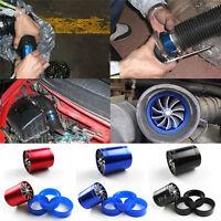 Black Air Intake Turbonator Single Fan Turbine Turbo Supercharger Gas Fuel Sa CO
