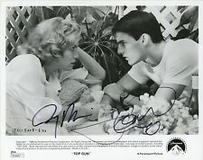 TOM CRUISE & JERRY BRUCKHEIMER Authentic Hand-Signed TOP GUN 8x10 Photo(JSA COA)