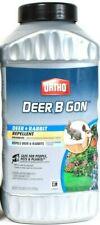 1 Ortho 2 Lb Deer & Rabbit B Gone Safe For People Pets Plants Repellent Granules