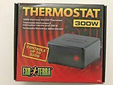 ExoTerra Reptile Terrarium Heater or Heat Mat Pad Thermostat 300W PT-2457