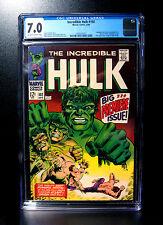 COMICS: Incredible Hulk #102 (1968), 1st Premiere issue of Vol 2 - CGC 7.0