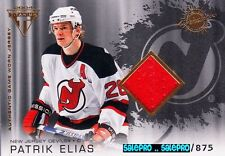 PACIFIC PS PRIVATE STOCK 2003 PATRIK ELIAS NEW JERSEY DEVILS GAME JERSEY /875
