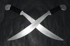 Practice Philippine Aluminum Lahot Metal Swords Pair Training Kali Blades Ronin