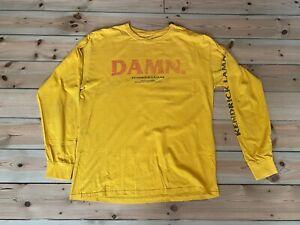 Kendrick Lamar DAMN Tour Long Sleeved Tshirt