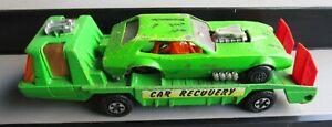 VINTAGE DIECAST TOY CAR TRANSPORTER MATCHBOX SUPER KINGS DRAGSTER