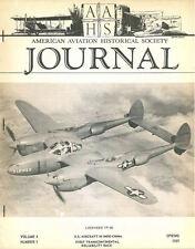 AAHS V4 N1 INDOCHINA ARMEE DE L AIR / WW1 ROLAND D.VI / LOCKHEED TACOMA SIRIUS