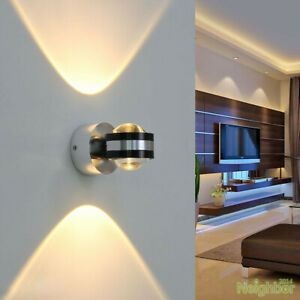 Modern Aluminum 6W Small LED Wall lamp Ceiling Lights TV Wall Hallway Spotlight