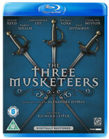 The Three Musketeers Blu-Ray (2011) Oliver Reed, Lester (DIR) cert U ***NEW***