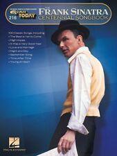 Frank Sinatra Centennial Songbook Sheet Music E-Z Play Today Book NEW 000131100