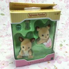 Sylvanian Families Calico Critters Epoch SI-67 Twins of deer 46021 JAPAN