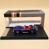 Premium X JAGUAR XK SS 1957 Metallic Dark Blue PRD534 1:43 Resin Toys Models Car