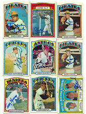 Jerry Kenney signed 1972 Topps #158 Yankees