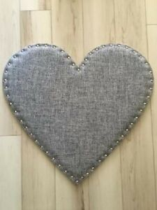 Heart Shaped Wall Mounted Message Bulletin Board with Studs