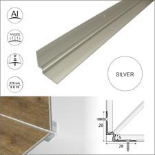 2.7m  LUXURY CLICK VINYL FLOORING STAIR NOSING EDGE PROFILE TRIM LVT C31
