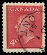 "CANADA 287 - King George VI ""Postes-Postage"" (pf4391)"