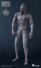 "Worldbox 1/6 Scale 12"" AT019 Male Evil Dead Body Zombie Skin Body W Head"