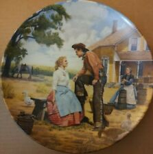"""Oklahoma! Collectible Plate """"Oh, What A Beautiful Morning"""" 1985 W/ Coa"""