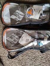 2 EKTELON Racquetball Racket w/ Case 900 Power Level Energy Play NEW