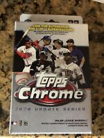 ✅⚾️🔥2020 Topps Chrome Update Series Hanger Box MLB