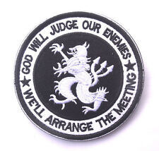 NAVY SEAL GOD WILL JUDGE OUR ENEMIES TEAM 6 DEVGRU LION ISAF PATCH