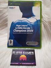 Jeu Roger Lemerre 2004 pour X-Box XBOX First Gen PAL Complet CIB - Floto Games