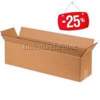 20 Stücke Schachteln Karton lange x Produkte Brötchen Teppiche Rohre 80x15x15cm