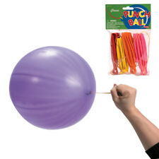 4 Pack PUNCH BALL BALLOONS party favors Assorted Colors FREE SHIPPING from USA