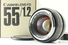 [Near Mint+ in BOX] Canon FD 55mm F1.2 Film Camera MF Standard Lens From JAPAN