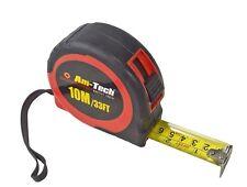 AM TECH 10m/ 32ft Tape Measure TWIN PACK SET (2 TAPE MEASURES)