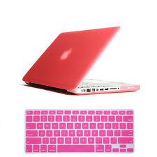 Laptop Matt Rubberized Hard Case Keyboard Cover for Apple Macbook Air 11 13 inch