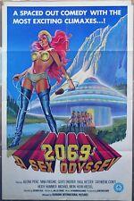 2069: A SEX ODYSSEY ORIGINAL 1974  27 X 41 MOVIE POSTER SEXPLOITATION