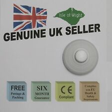 WHITE IN LINE LIGHT FOOT SWITCH - UK SELLER -FREE P&P-6 month Guarantee-10% OFF
