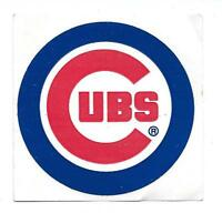 "Unpeeled Chicago Cubs 3"" Logo Window Sticker"