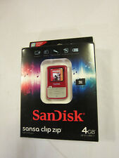 SanDisk Sansa Clip Zip MP3/FM Radio Player 4GB