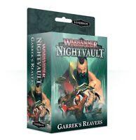 Garrek's Reavers - Warhammer Underworlds: Nightvault - Brand New! 110-35