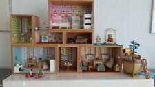 Epoch Traumwiesen Sylvanian Families Puppenhauszubehör + Puppen (Haus selbstgeb.