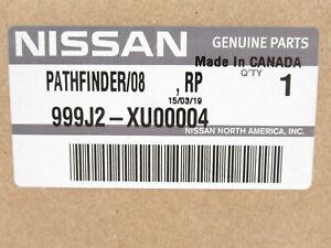 Genuine OEM Nissan 999J2-XU00004 Rear Splash Guard Mud Flap 2005-2012 Pathfinder
