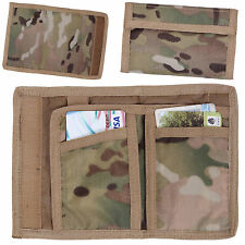 Mens Rothco Notes EDC Nylon Fabric Military Army Wallet MTP Multicam Camo NEW