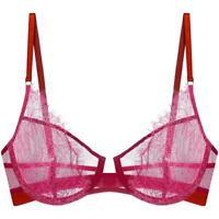 Dora Larsen# Sabina Balconette Unlined Underwire Bra US Size 32 B