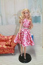 Barbie Van Gogh relookée Ensemble Belk + socle Mattel OFFERT