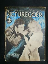 Vintage Foreign Movie Magazine Picturegoer 10/27 1934 Nils Asther Pat Paterson