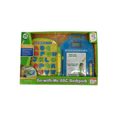 Leapfrog Go-With Me ABC Backpack NEW In Box Learning Toy